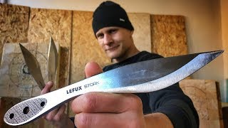 Knives For Any Technique? (Lefux-Stork) Throwing Test