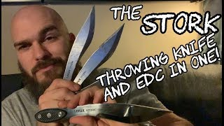 The Stork - throwingknife and EDC in one